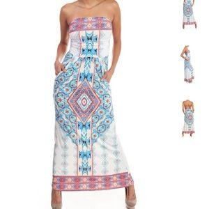 Dresses & Skirts - Colorful Maxi Dress